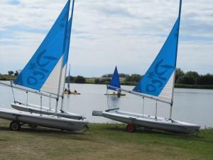 sailing lesson at Rye Watersports