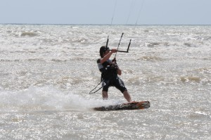 Kids Kitesurfing lessons at Rye Watersports