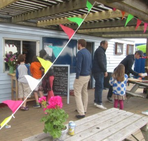 The Hoolie Cafe now open at Rye Watersports