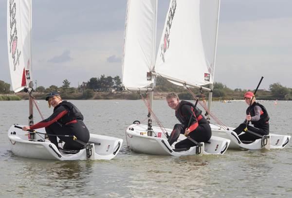 dinghy sailing lesson