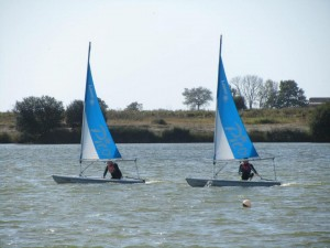 Sailing lessons at Rye watersports