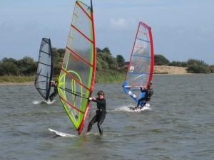 Intermediate Windsurfing lesson at Rye Watersports