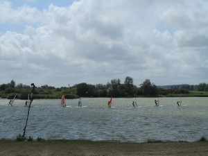 Kids windsurfing Club at Rye watersports