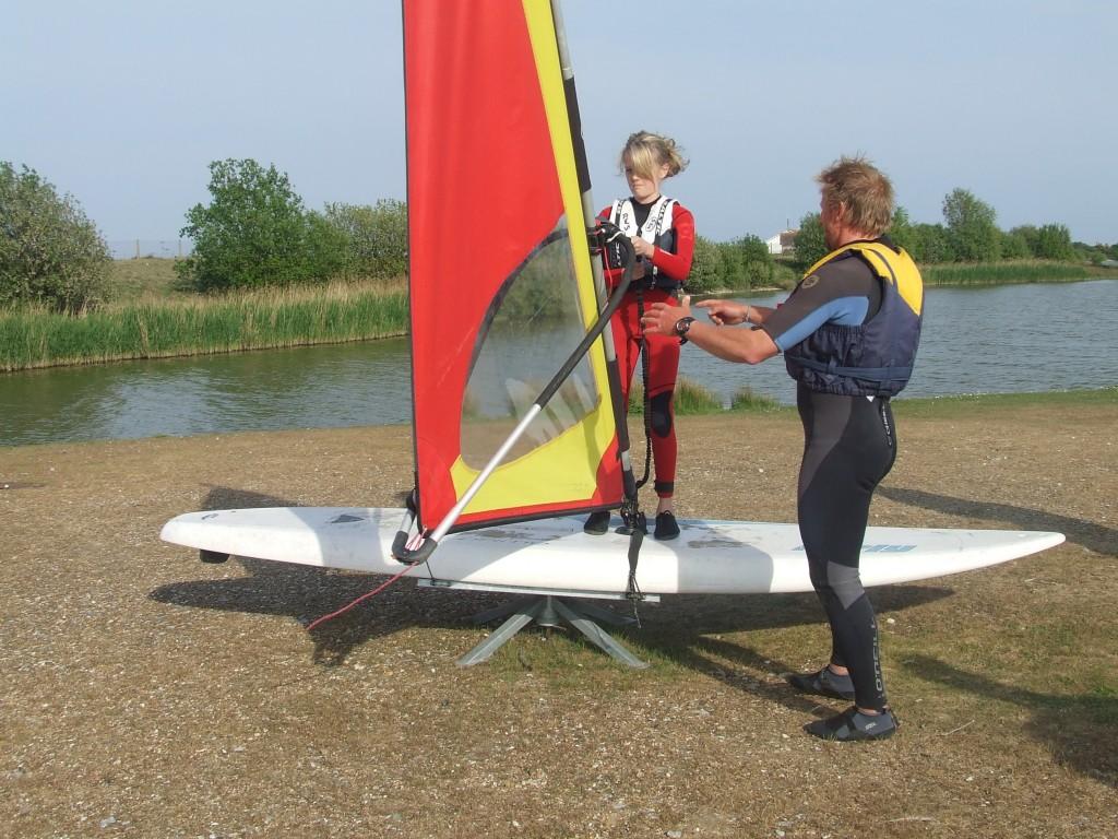 windsurfing simulator session (2)