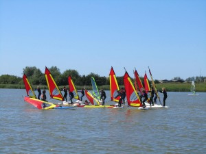 Kids windsurf lesson