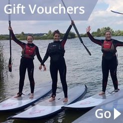 Rye Watersports Gift vouchers a perfect gift for Christmas in East Sussex, South East England