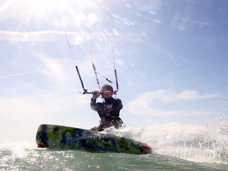 kitesurf lessons camber sands