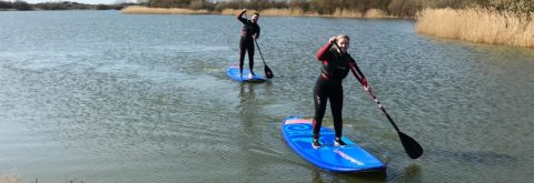 SUP - Paddleboarding.. Fun for everyone!