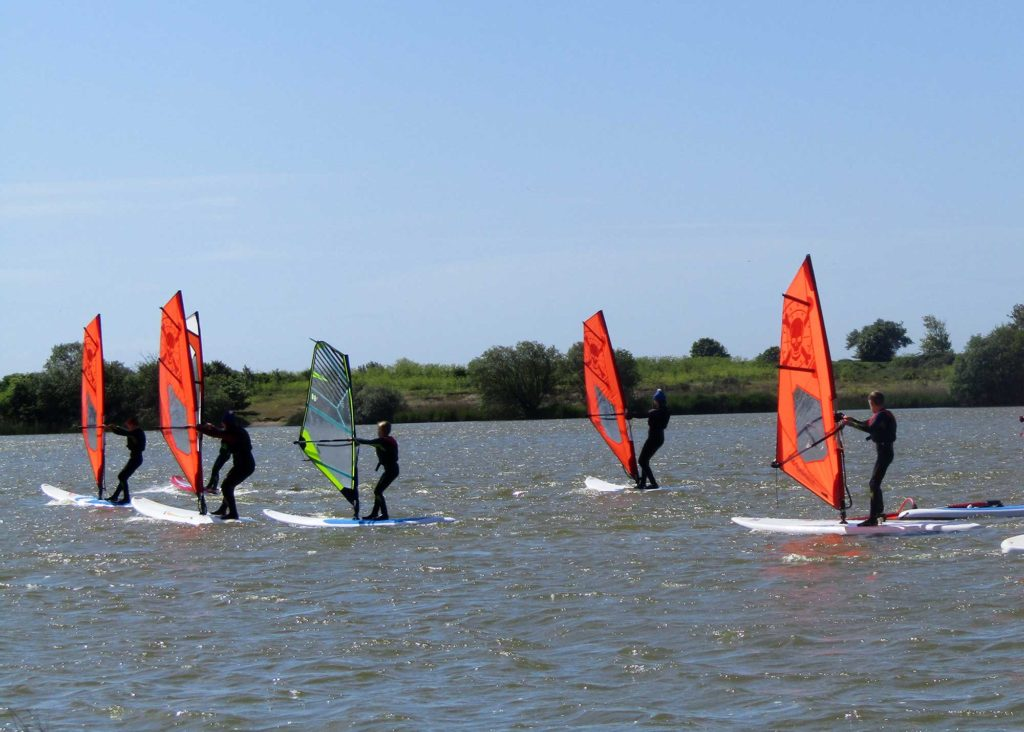 kids windsurf level 2