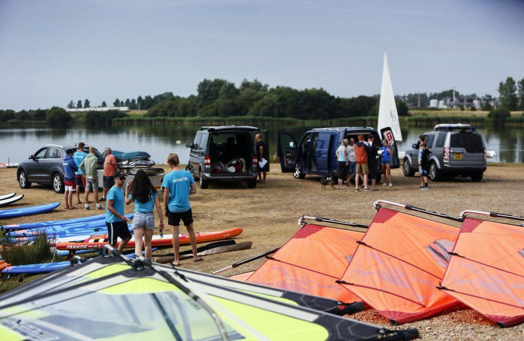 launch watersports equipment