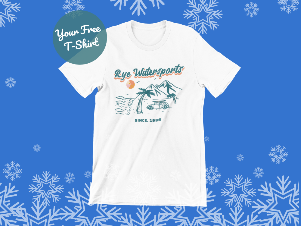 image of t-shirt in our free t-shirt with every gift voucher offer